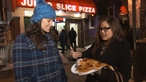 Jumbo slices lure late-night crowds
