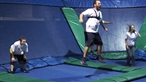 Bert Jumps into Skyzone